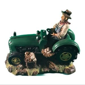 Tractor and Farmer